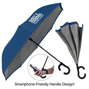 The ViceVersa Inverted Umbrella - Manual-Open, Reverse Closing